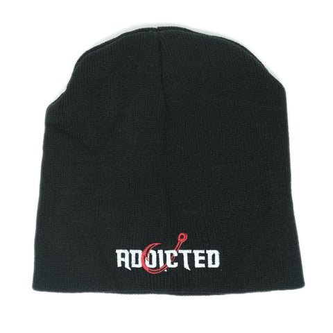 Addicted Skull Cap Beanie Black