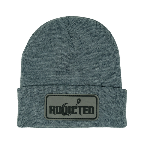 Premium Grey Ghost Patch Beanie (Limited Edition)