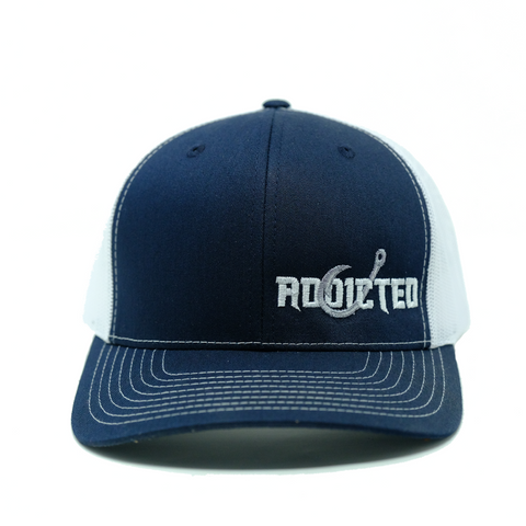 Addicted Royal Blue Trucker