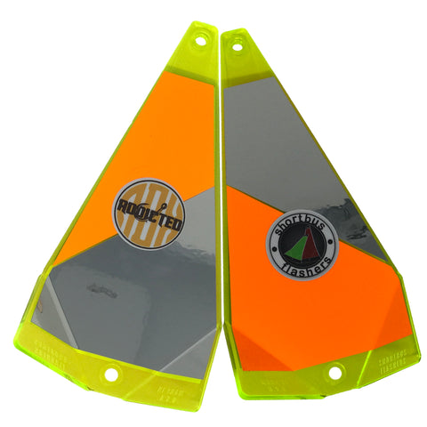Twisted Addiction Orange Triangle Flasher (Limited Edition)