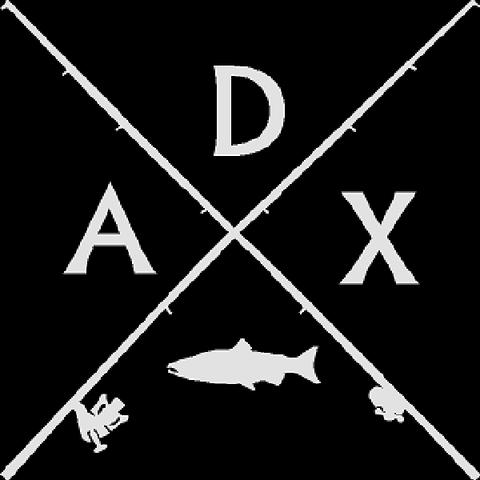 ADX Rod Cross Decal White