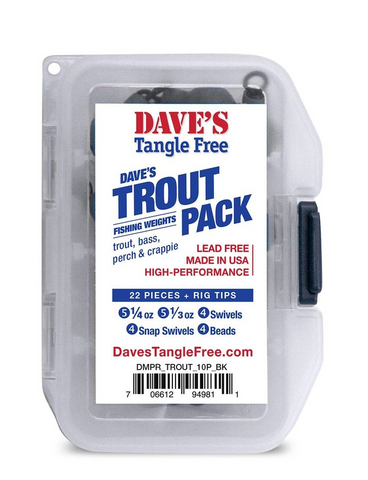 Daves Tangle Free Trout Pack