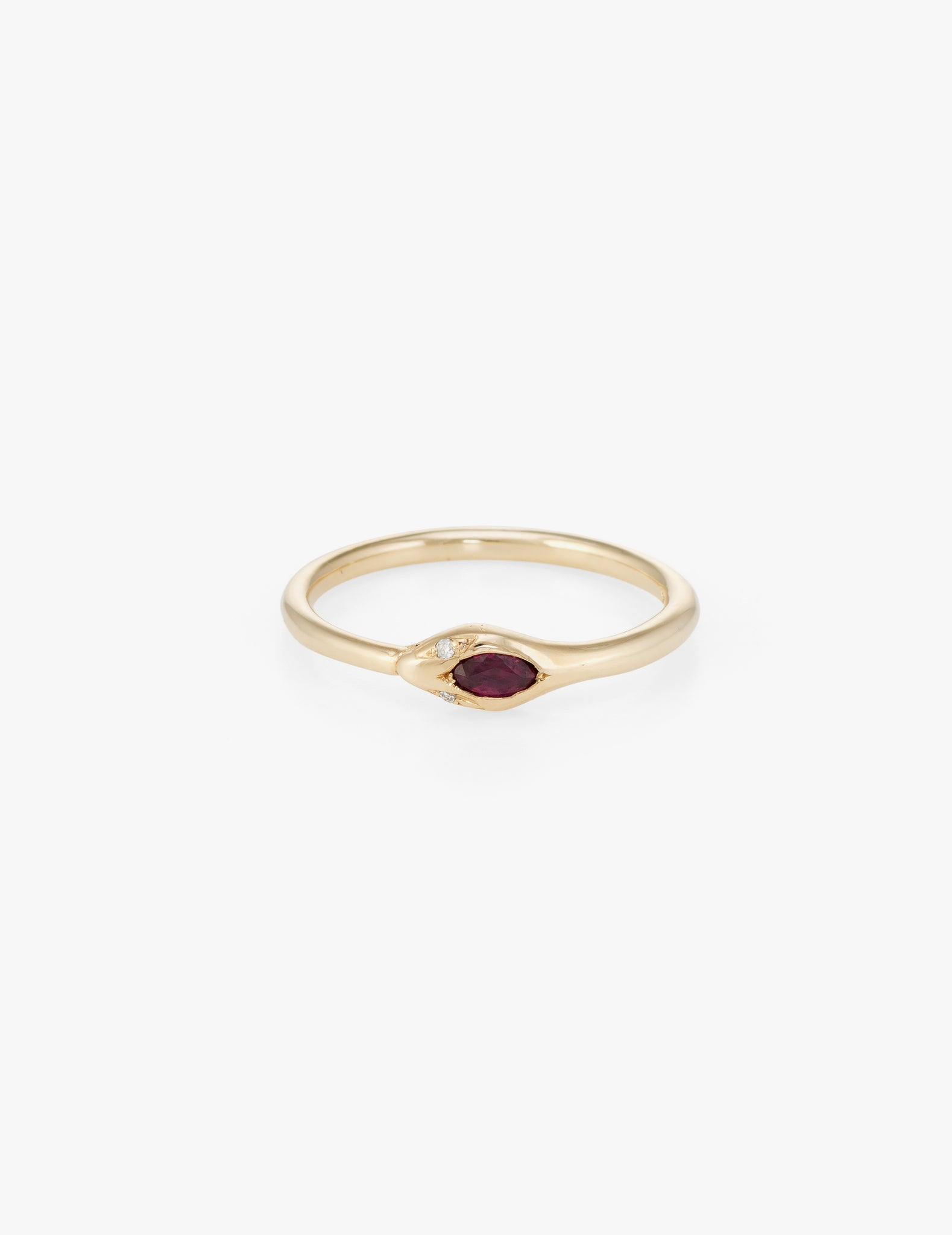 Ruby Ouroborus Ring