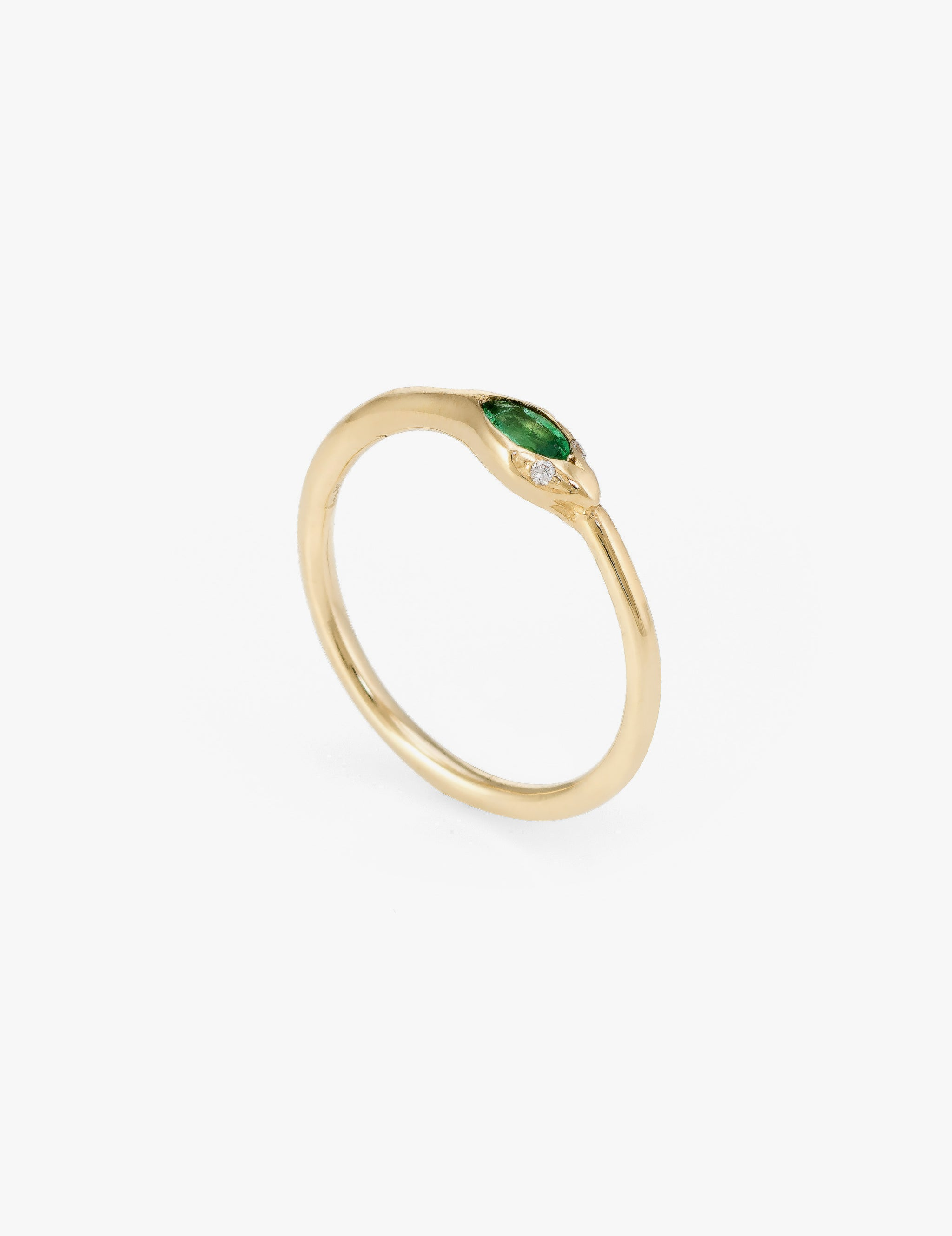 Emerald Ouroborus Ring
