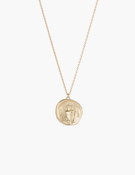 Urn coin pendant