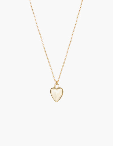 Small Gold Heart Pendant
