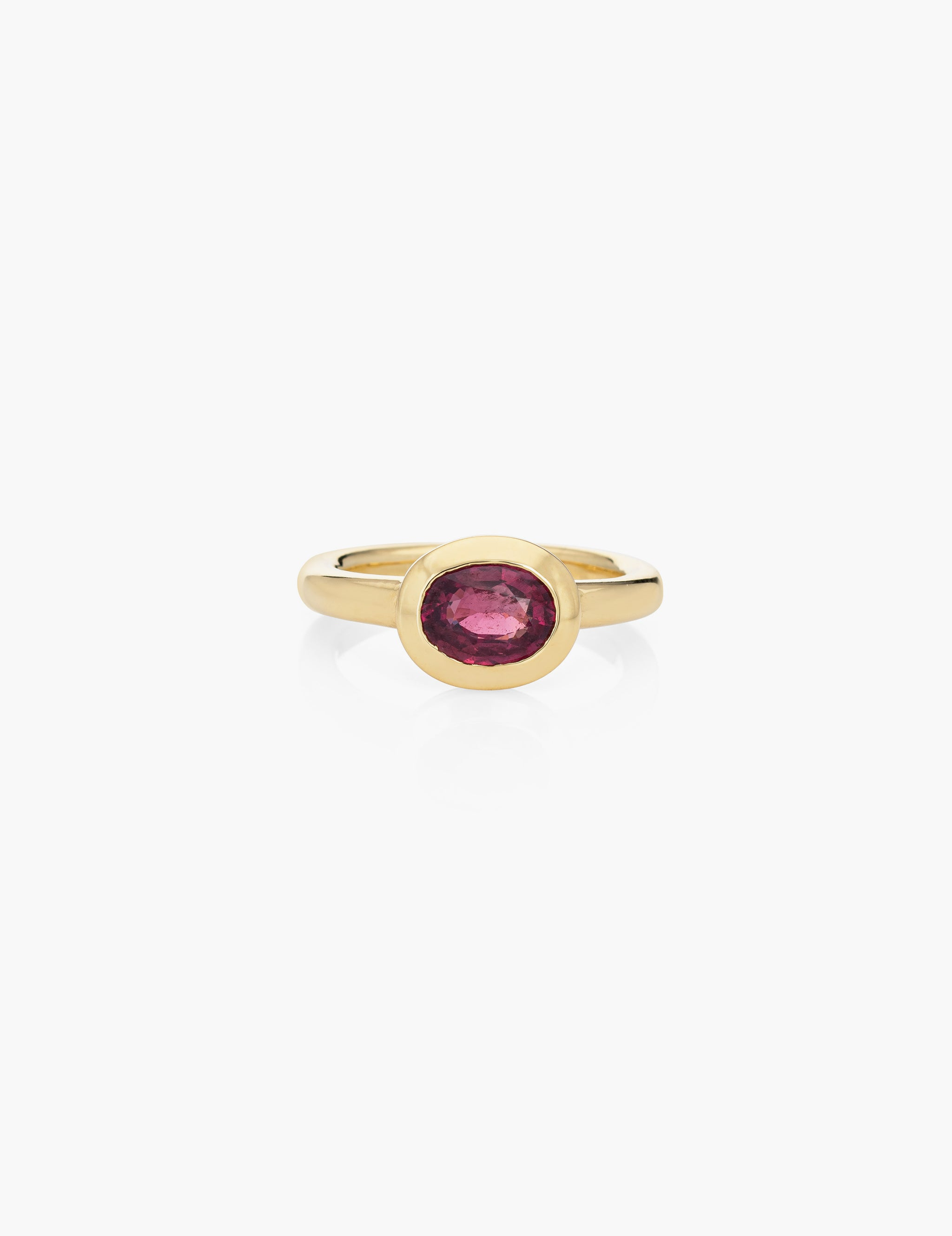 18k Ruby Finger Ring