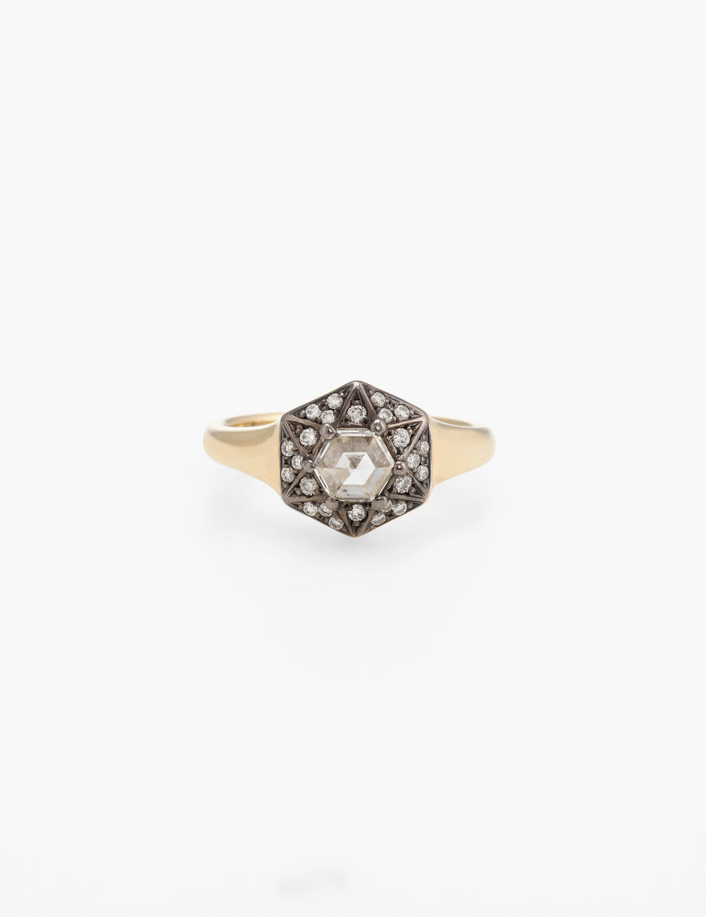Small Hexagon Ring