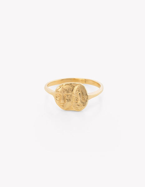 Gemini Coin Ring - Dream Collective