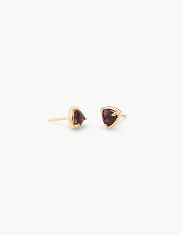 Prism Studs in Garnet - Dream Collective