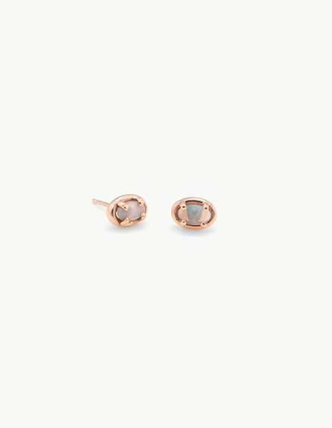 Ellipse Studs in Opal - Dream Collective