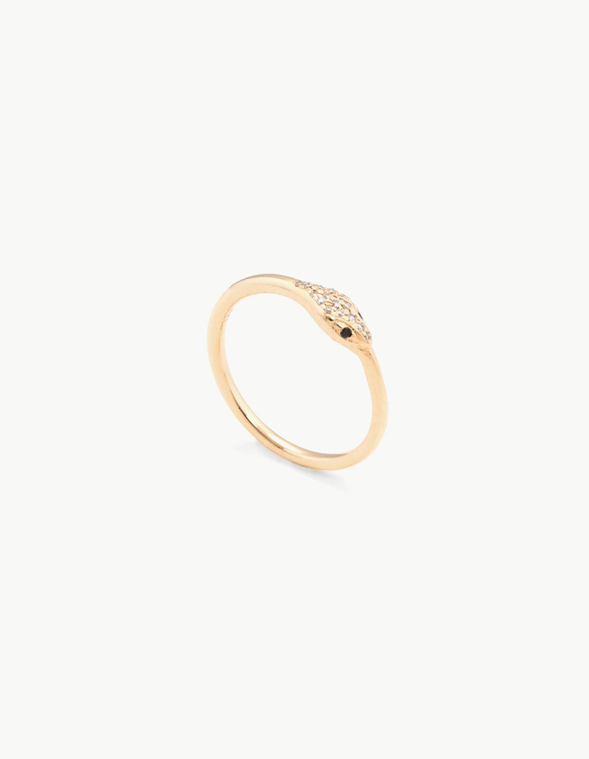 Diamond Ouroboros Ring - Dream Collective