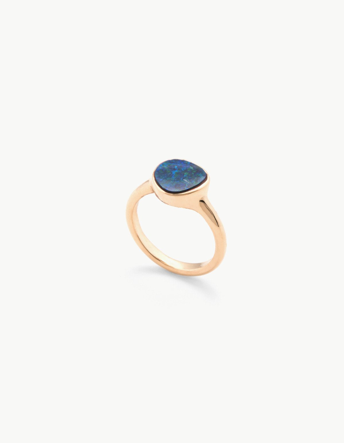 Small Opal Organic Amulet Ring - Dream Collective