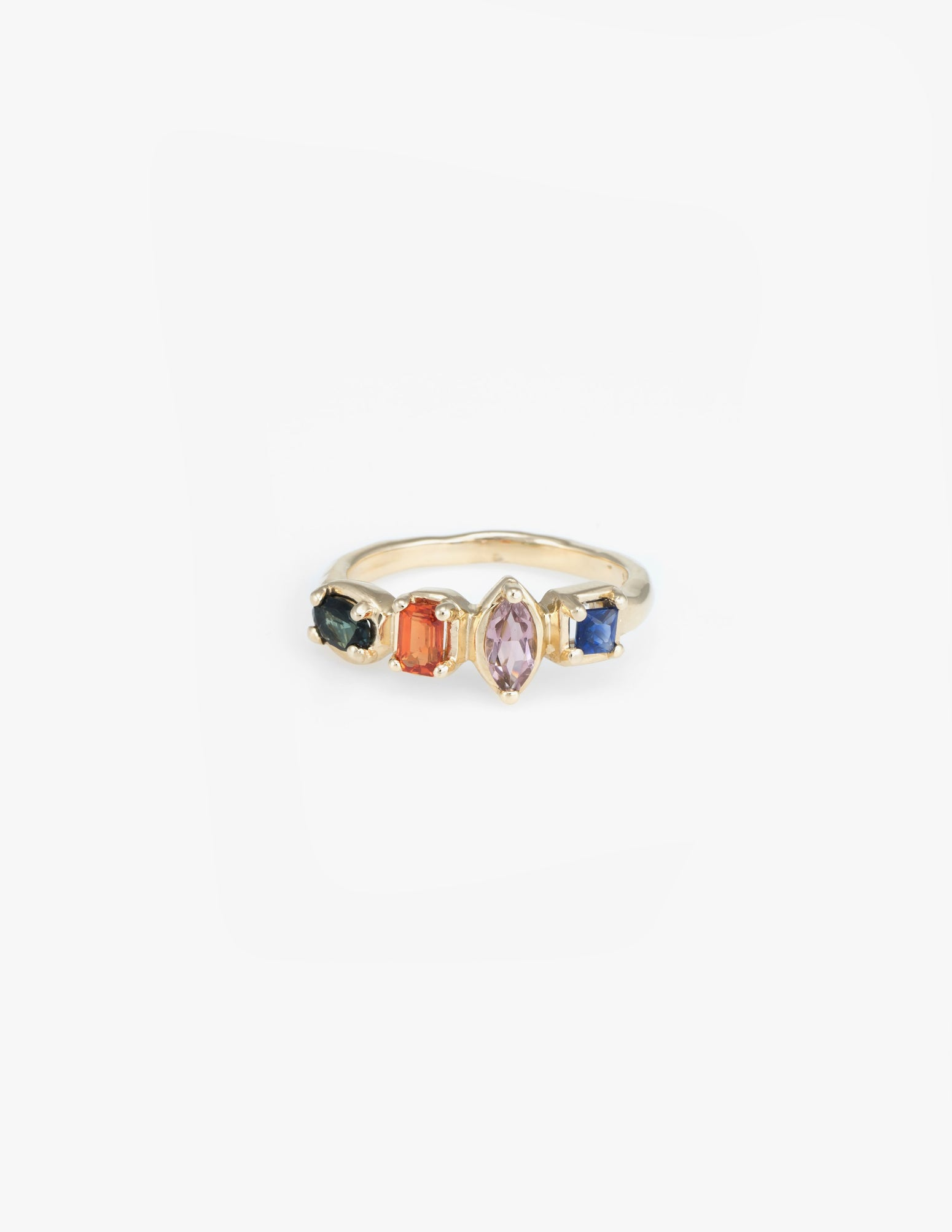 Square Quartet Ring