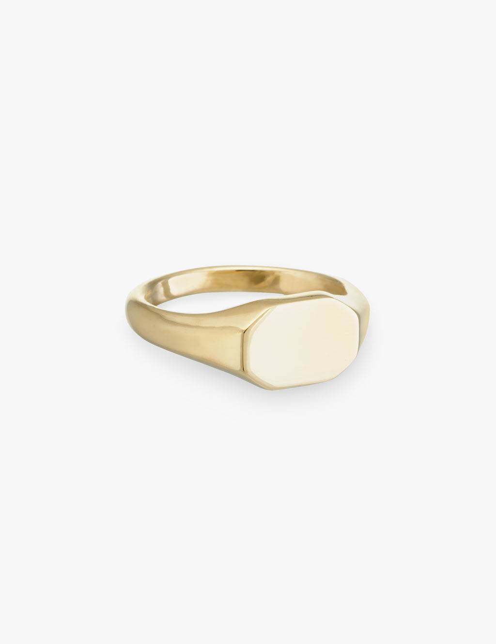 Hexagon Signet Ring
