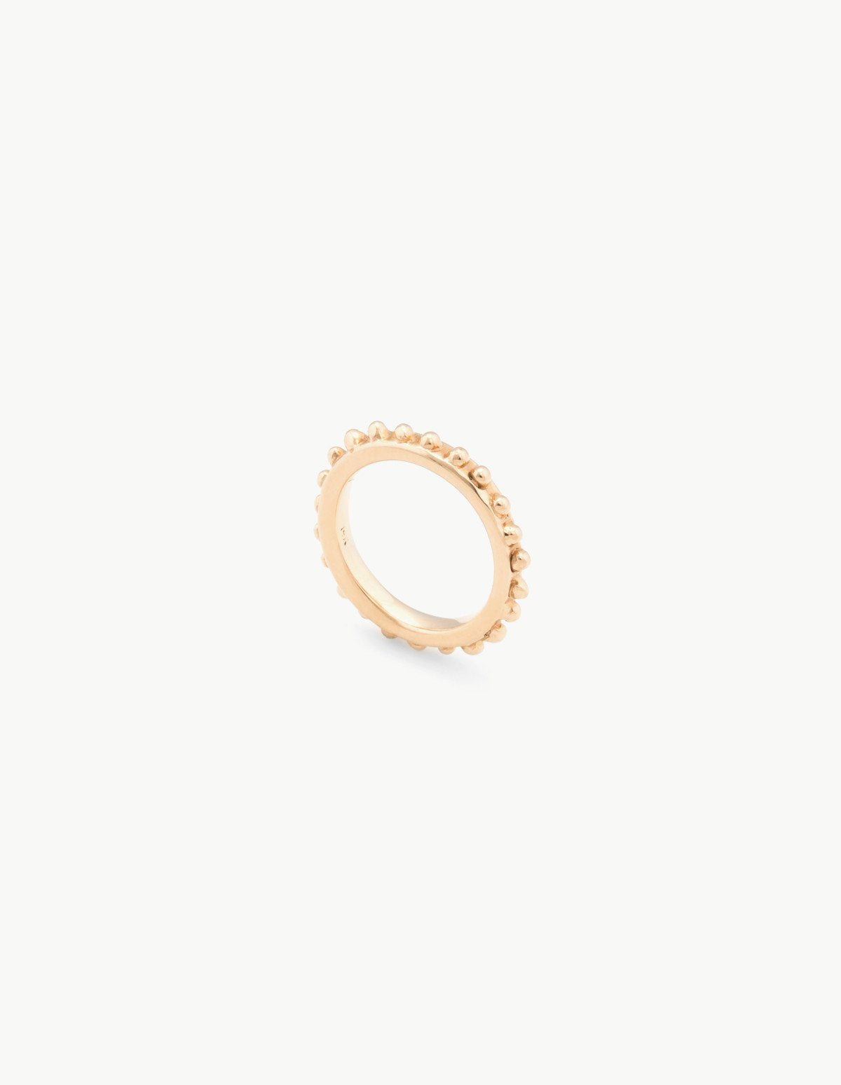Organic Gold Beaded Band - Dream Collective