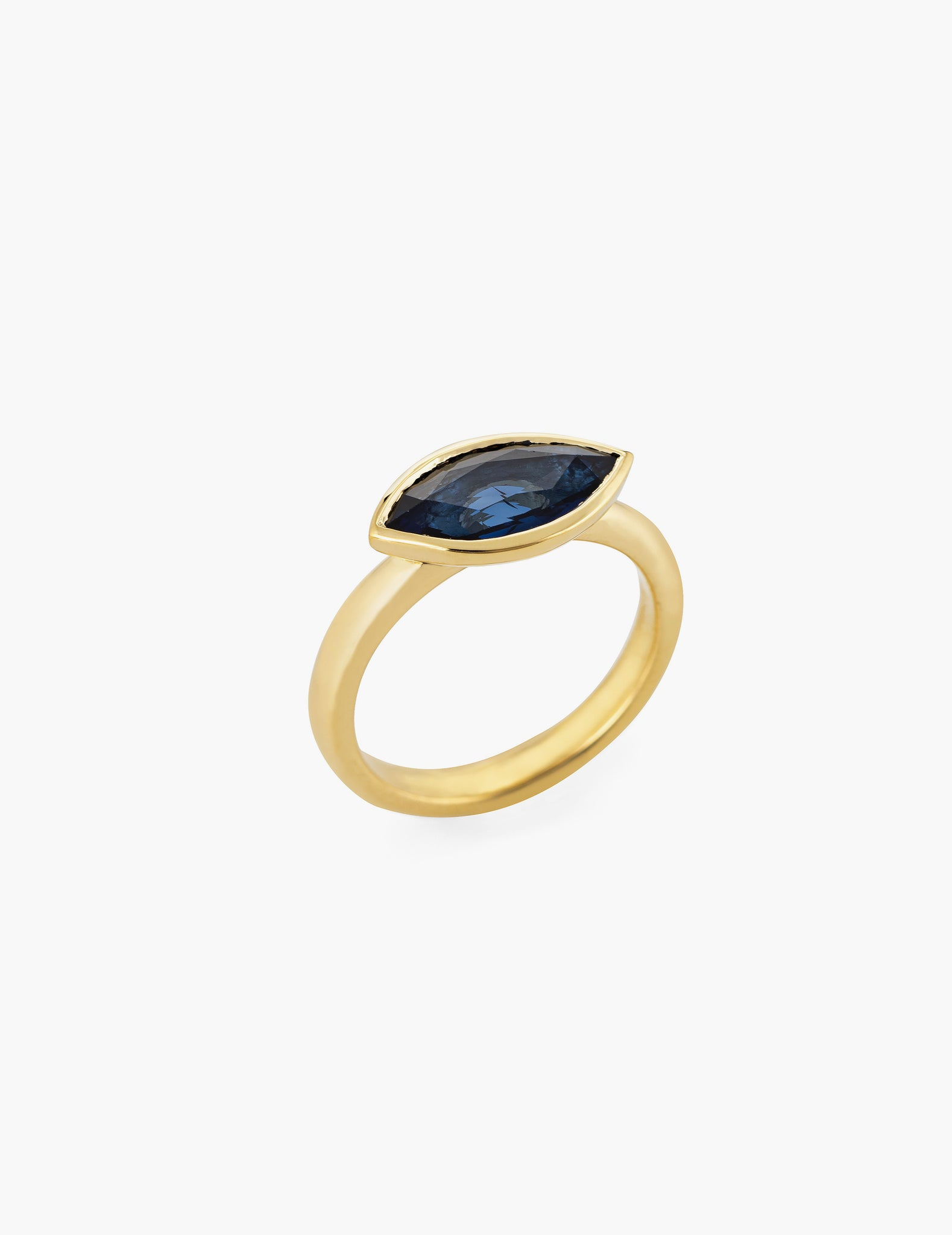 Sapphire Marquise Ring