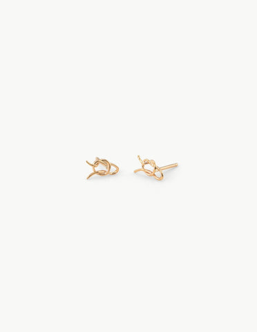 Running Knot Studs - Dream Collective