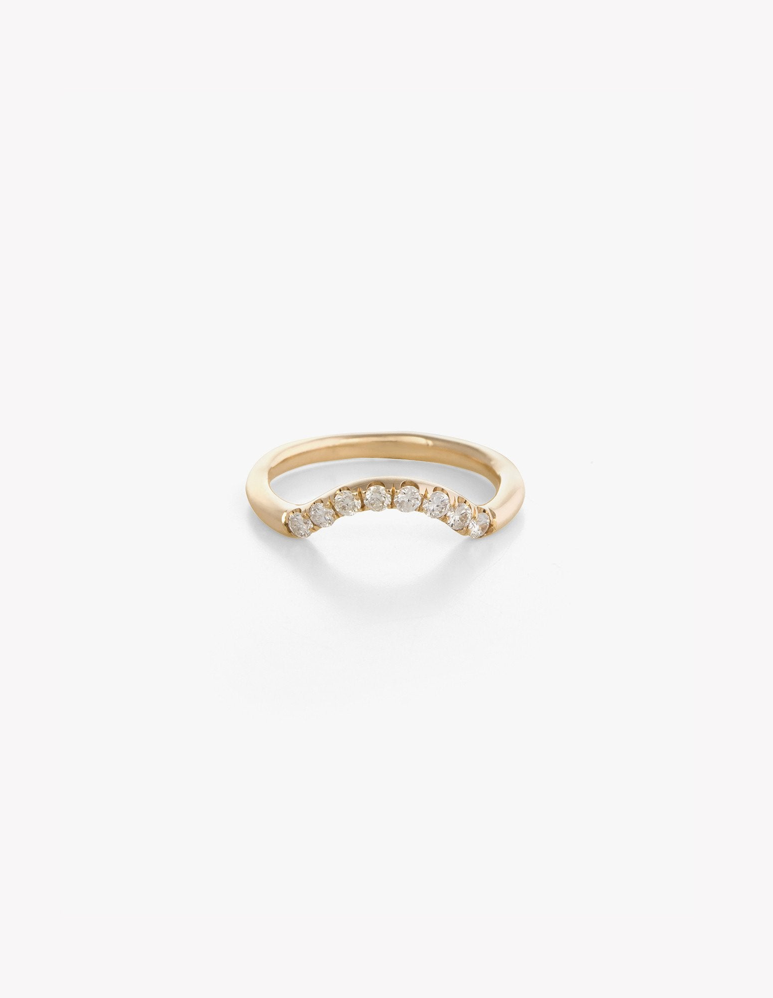 Diamond Arched Band - Dream Collective