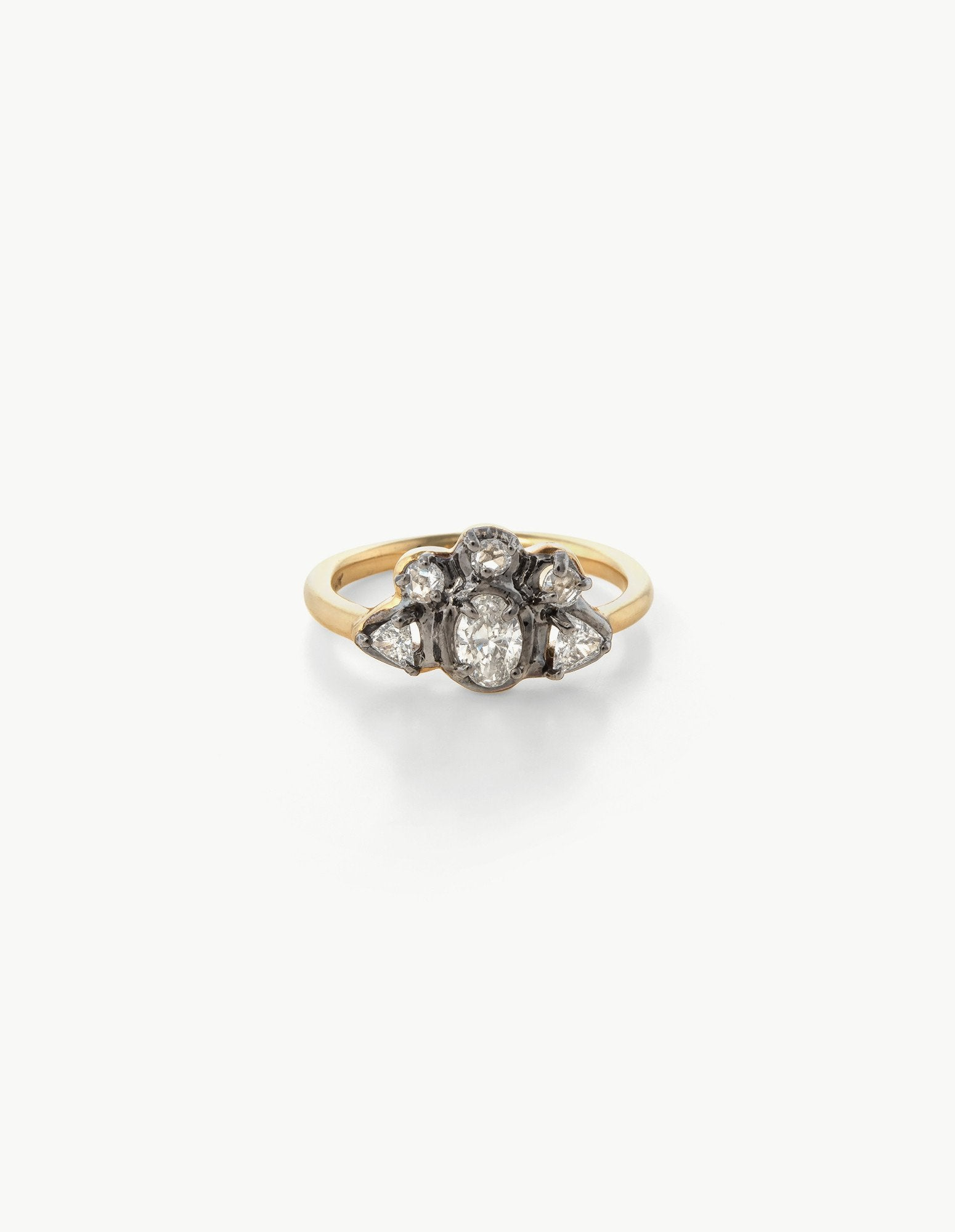 Diamond Crown Ring - Dream Collective