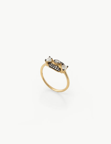 Leida Ring in White Diamonds - Dream Collective