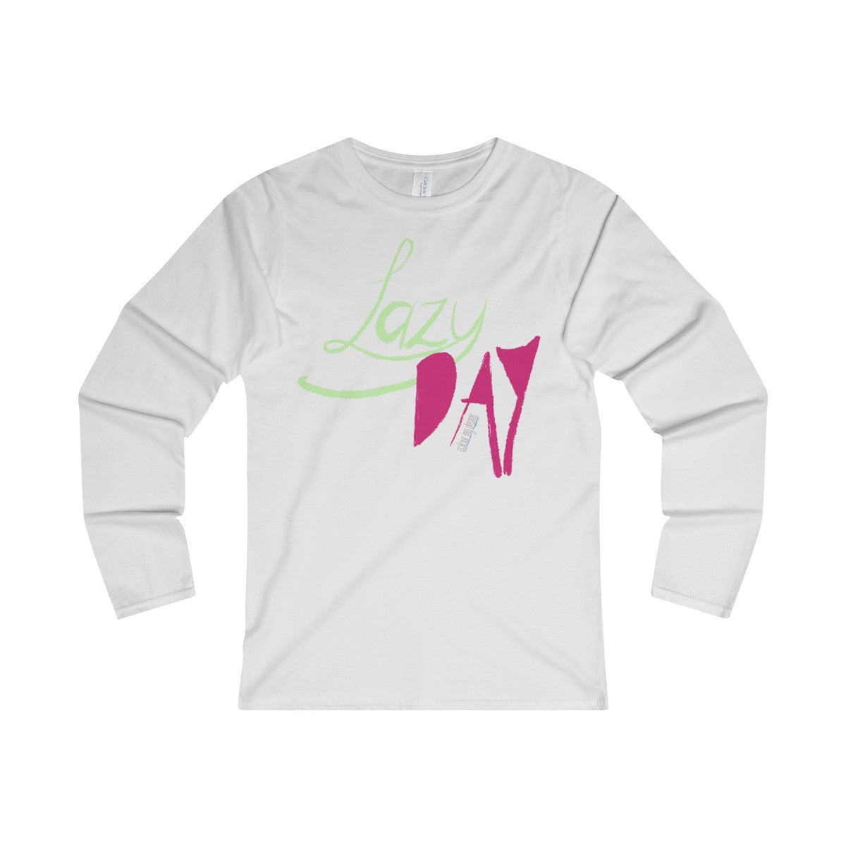 Women's' Long Sleeve T-Shirt - Lazy Day