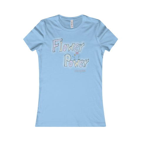 Women's Favourite T-Shirt - Flower Power