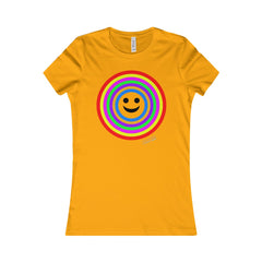 Women's Favourite T-Shirt - Rainbow Smile