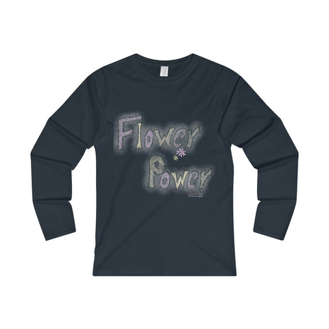 Women's' Long Sleeve T-Shirt - Flower Power