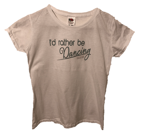 Child's T-Shirt - I'd Rather Be Dancing