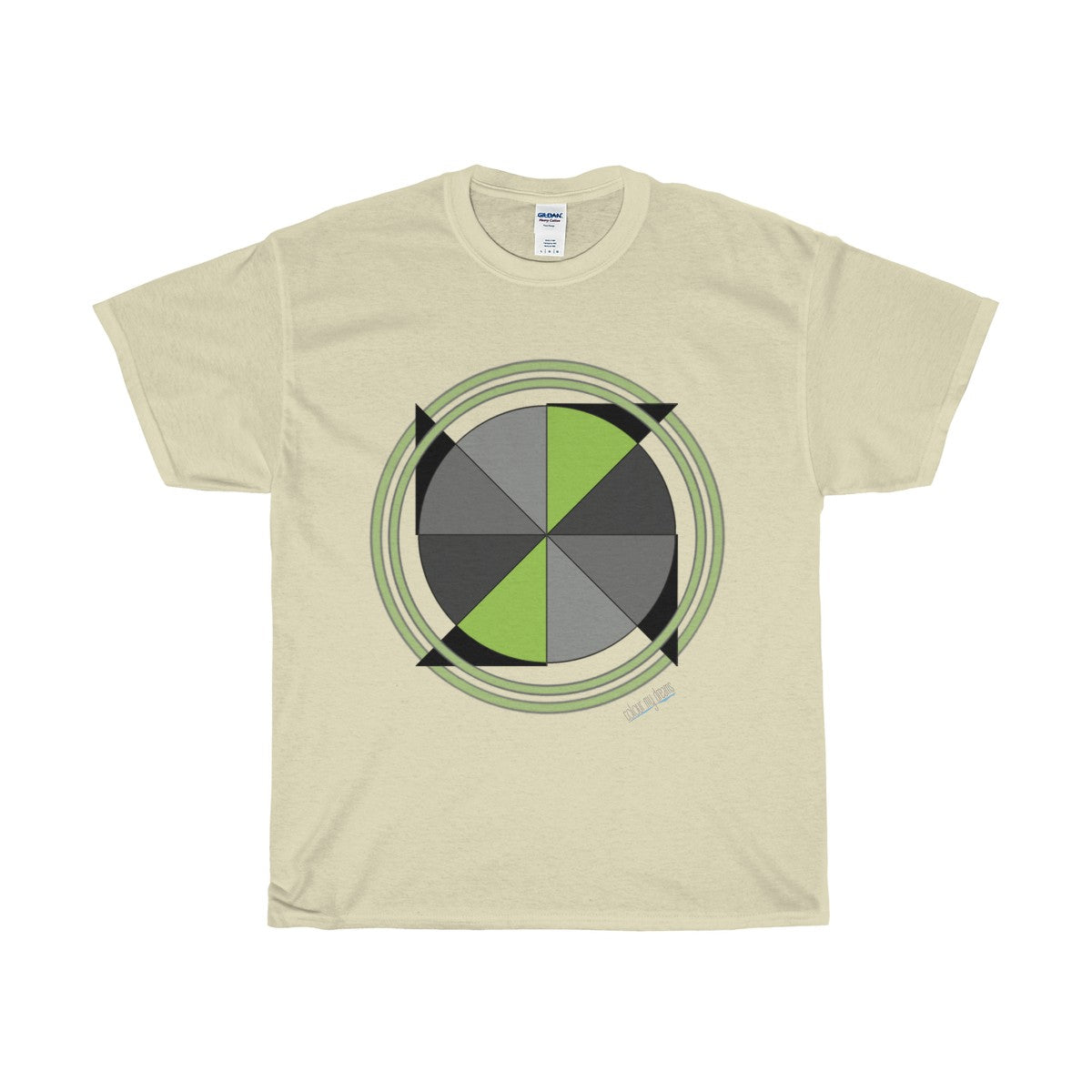 Men's Heavy Cotton T-Shirt - Pinwheel