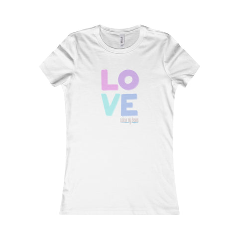 Women's Favourite T-Shirt - Pastel Love