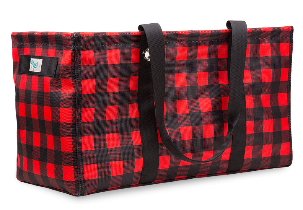 Bette Red Utility Tote