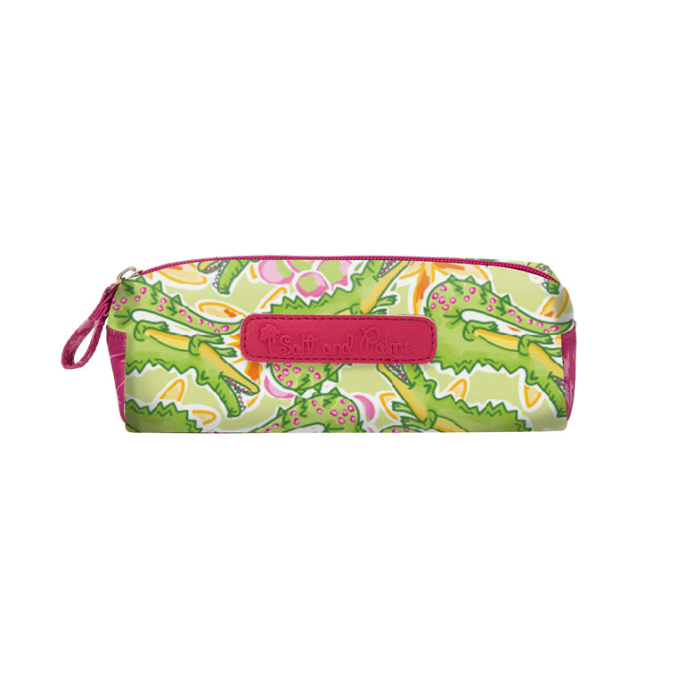 Salt & Palms Cosmetic Case - Alligators