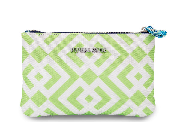 Brooke Green Mini Color Block Clutch