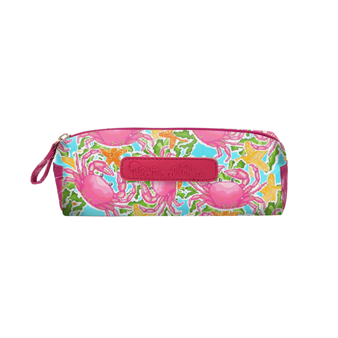 Salt & Palms Cosmetic Case - Crabs