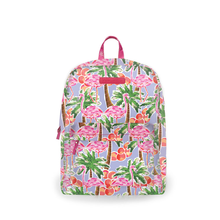 Salt & Palms Backpack - Flamingo