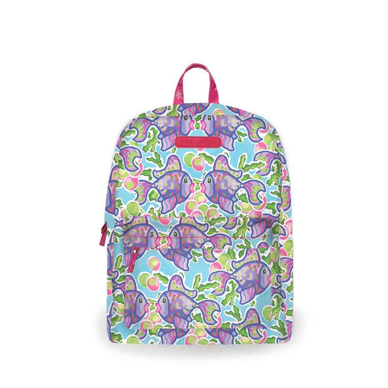 Salt & Palms Backpack - Blow Fish