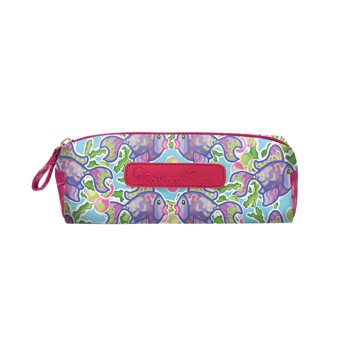 Salt & Palms Cosmetic Case - Blow Fish