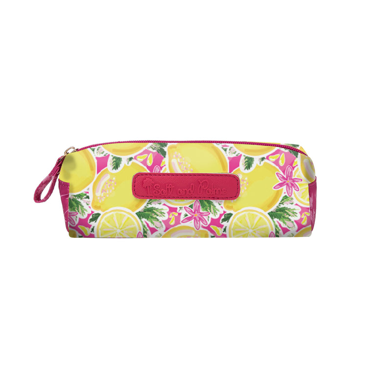 Salt & Palms Cosmetic Case - Lemons