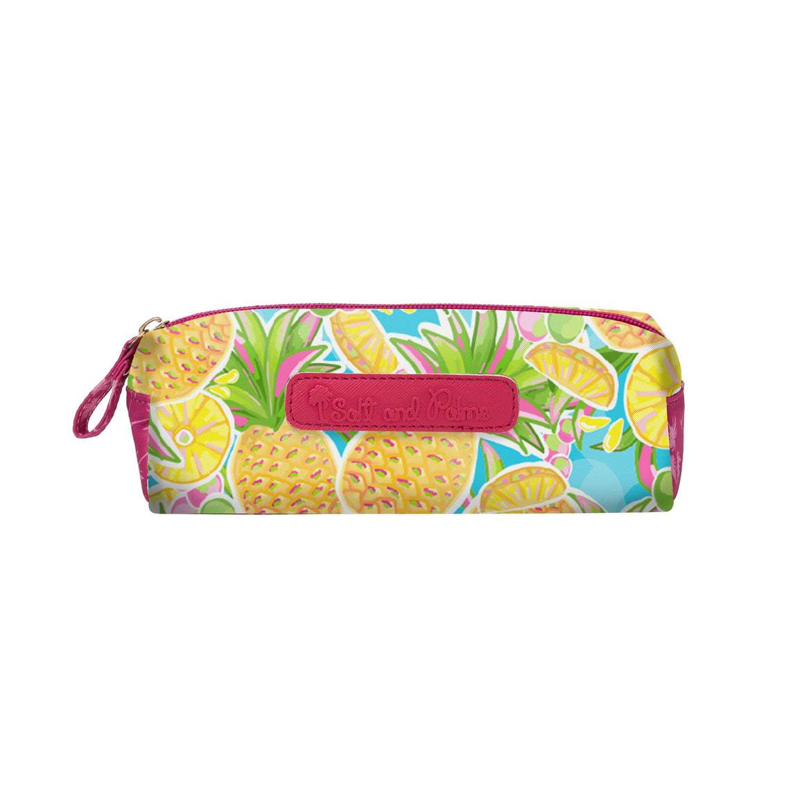 Salt & Palms Cosmetic Case - Pineapples