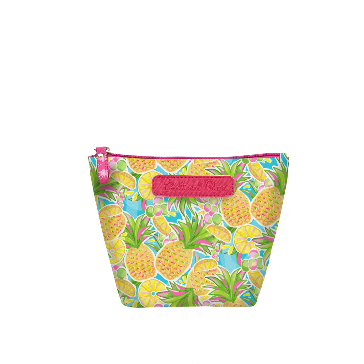 Salt & Palms Cosmetic Pouch - Pineapples
