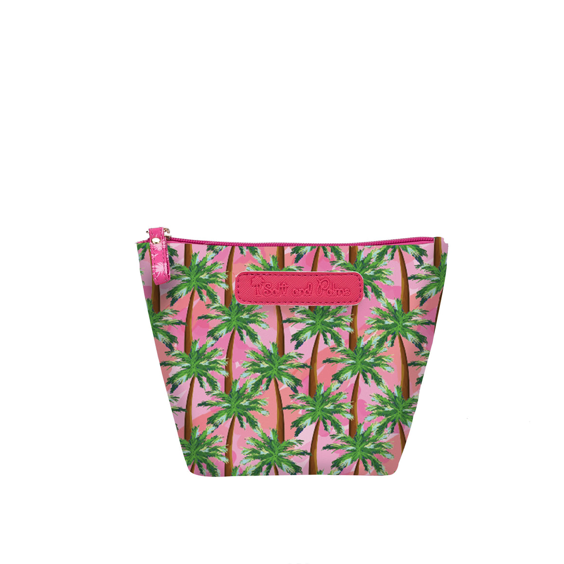 Salt & Palms Cosmetic Pouch - Sunset (Palm Tree)