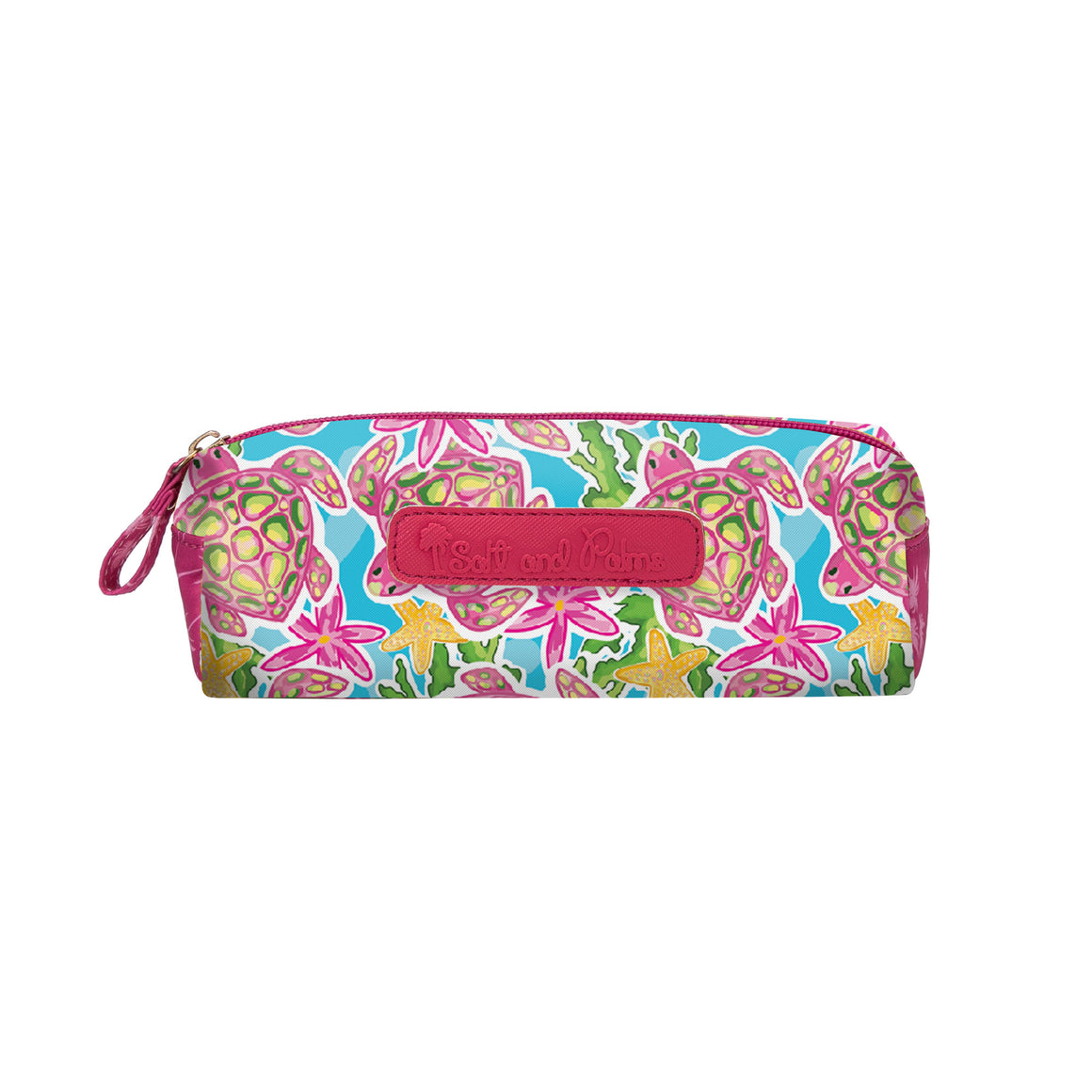 Salt & Palms Cosmetic Case - Sea Turtles