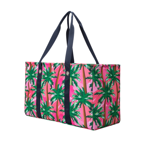 Salt & Palms Utility Tote - Sunset (Palm Trees)