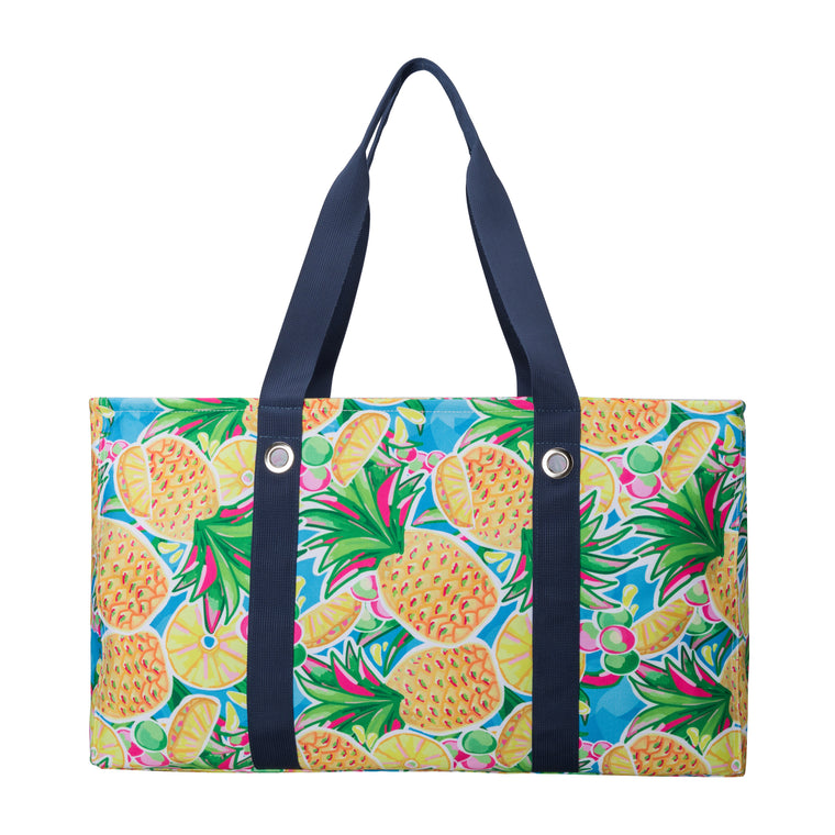 Salt & Palms Utility Tote - Pineapples
