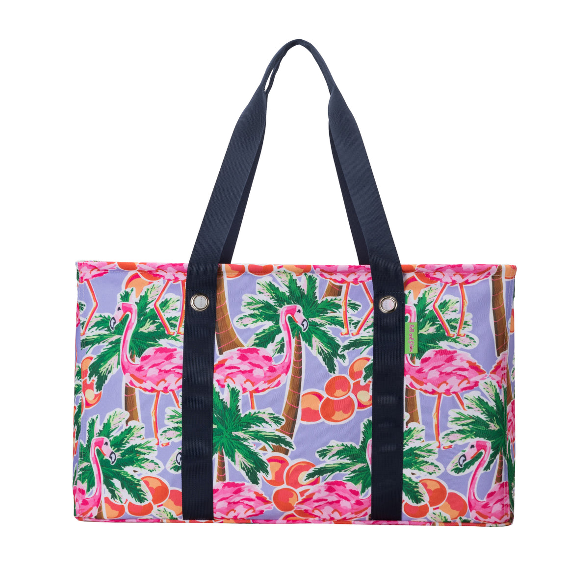 Salt & Palms Utility Tote - Flamingos