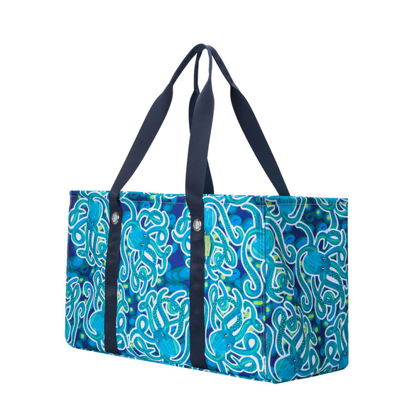Salt & Palms Utility Tote - Octopus