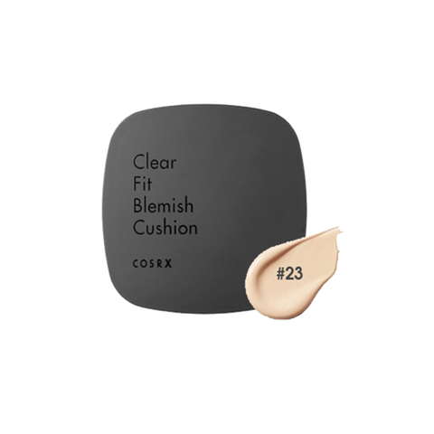 Cosrx Clear Fit Blemish Cushion #23 Natural Beige - TheBeautyQueen