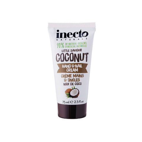 Inecto Coconut Hand and Nail Cream 75ml - TheBeautyQueen